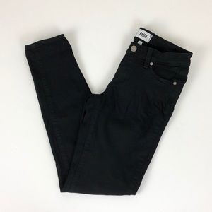 Paige black denim skinny jeans
